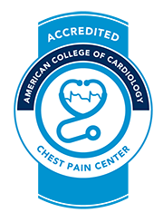 Evanston Regional is an Accedited Chest Pain Center